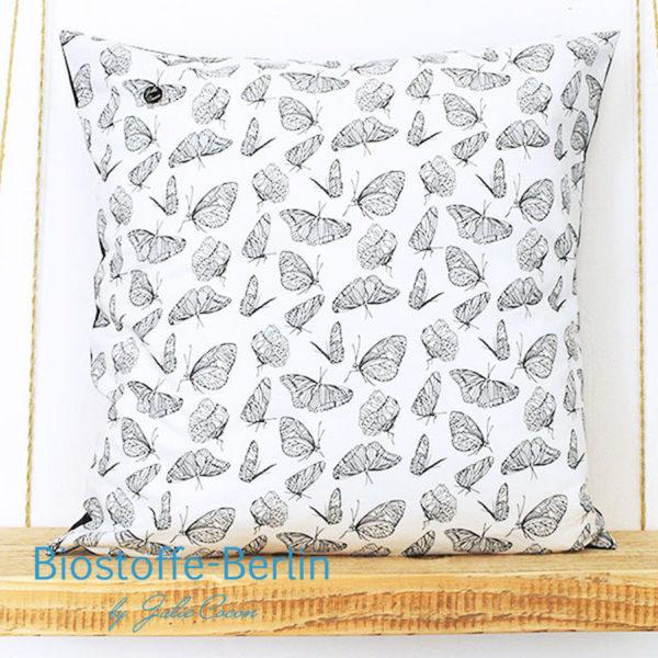 kissen Schmetterlinge, Bio-Baumwolle, Bio-Stoffe, home