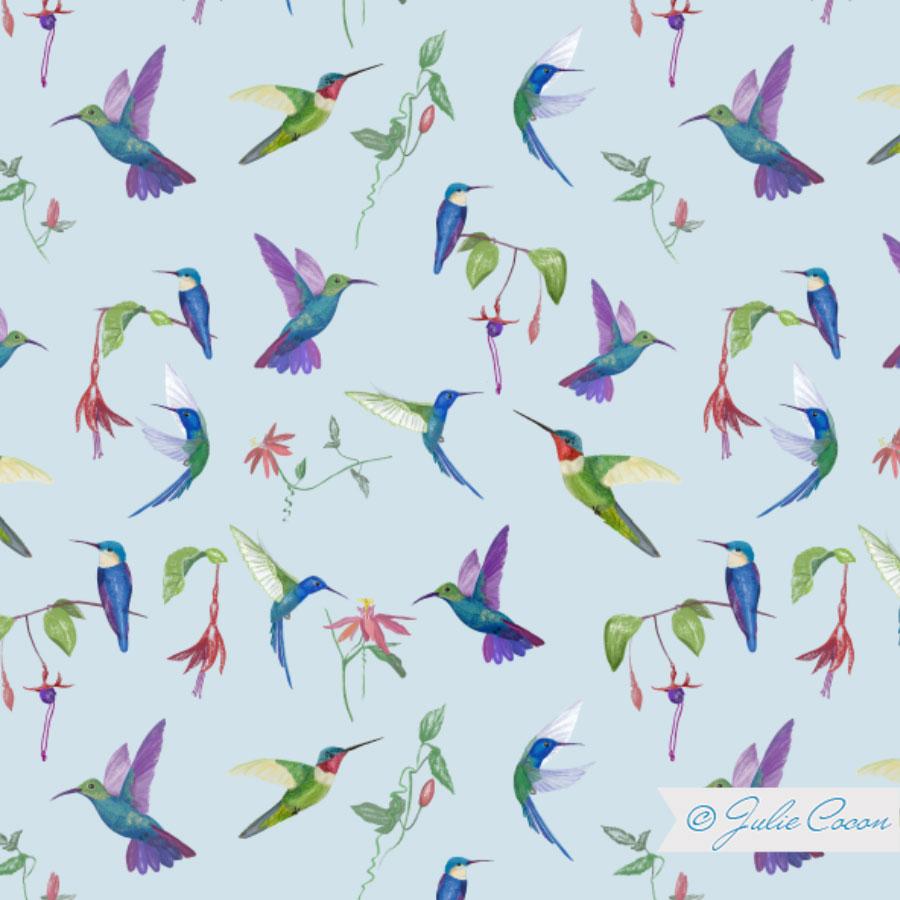 Kindergrafik-Kolibri-Textildesign_Julie-Cocon