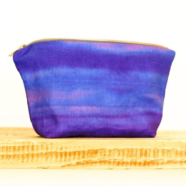 Kosmetiktasche_Waschtasche-vioett-blau-Leinen