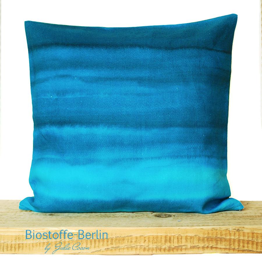 Leinenkissen_blau-Biostoffe-Berlin
